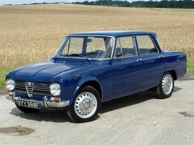 Lot 23 - 1967 Alfa Romeo Giulia 1300 Ti