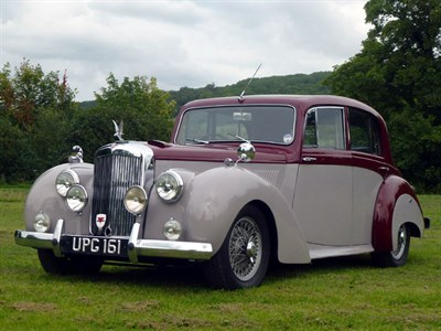 Lot 7 - 1954 Alvis TC21/100 Grey Lady Saloon