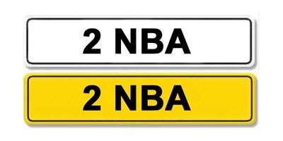 Lot 51 - Registration Number 2 NBA