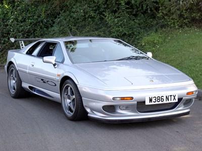 Lot 30 - 2000 Lotus Esprit Sport 350
