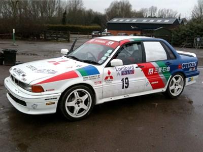 Lot 29 - 1990 Mitsubishi Galant VR4 Group A Rally Car