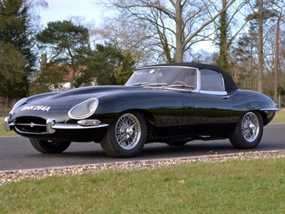 Lot 56 - 1963 Jaguar E-Type 3.8 Roadster