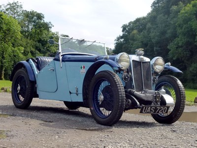 Lot 33 - 1933 MG L-Type Supercharged