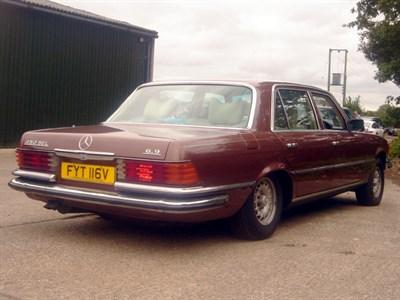 Lot 32 - 1979 Mercedes-Benz 450 SEL 6.9