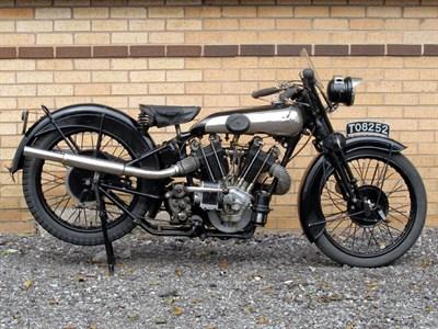 Lot 49 - 1928 Brough Superior SS100