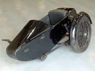 Lot 71 - 1933 Brough Superior Banking Sidecar