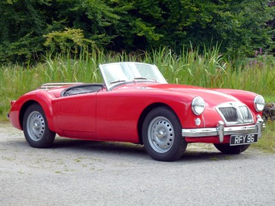 Lot 19 - 1959 MG A 1600 Twincam Roadster