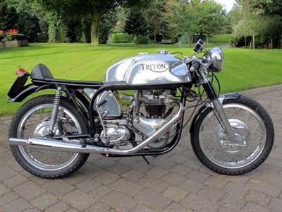 Lot 74 - 1955 Triton T120R