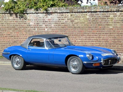 Lot 39 - 1972 Jaguar E-Type V12 Roadster