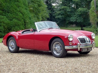 Lot 16 - 1961 MG A 1600 MKII Roadster
