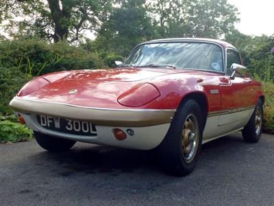 Lot 13-1972 Lotus Elan Sprint