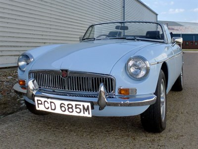 Lot 21 - 1974 MG B Roadster