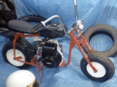 Lot 3 - 1970 Briggs & Stratton American Mini Chopper