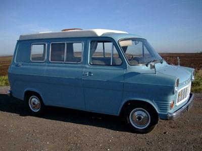 Lot 78-1971 Ford Transit Camper Van