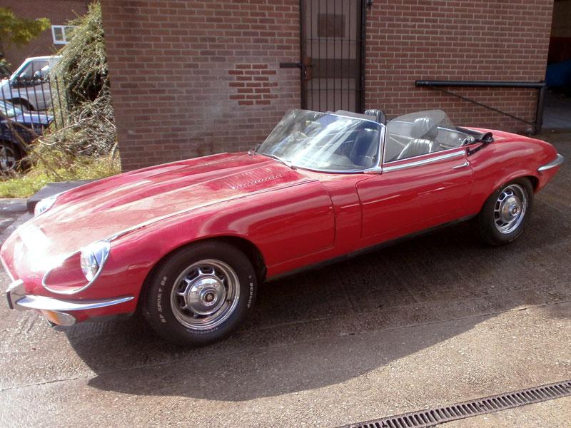 Lot 30-1971 Jaguar E-Type V12 Roadster