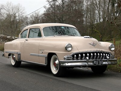 Lot 60-1953 DeSoto Firedome Club Coupe