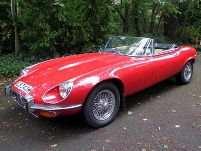 Lot 22 - 1974 Jaguar E-Type V12 Roadster