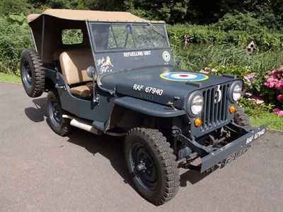 Lot 19 - 1947 Willys Jeep
