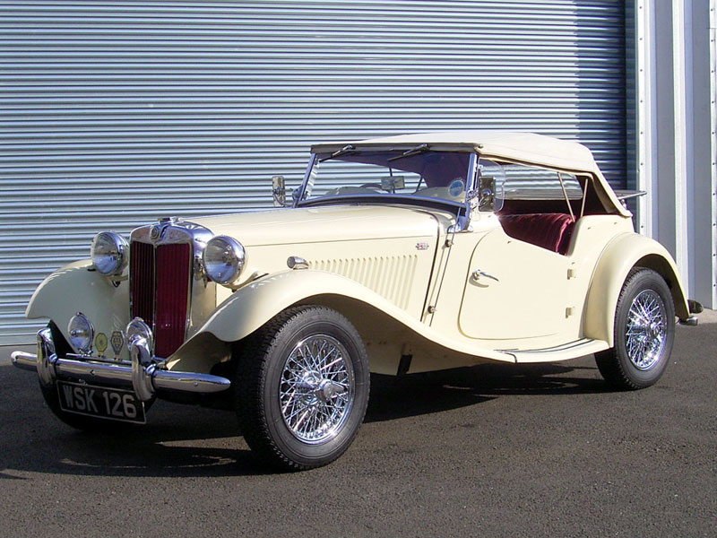 Lot 29 - 1952 MG TD