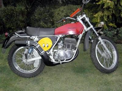 Lot 51 - 1975 Ducati Regolarita
