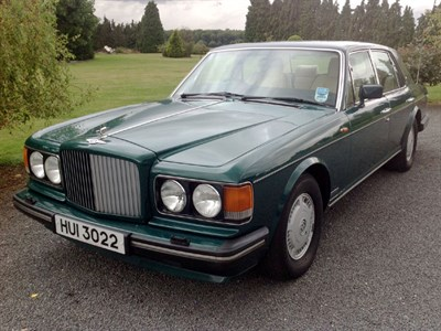 Lot 6 - 1991 Bentley Eight