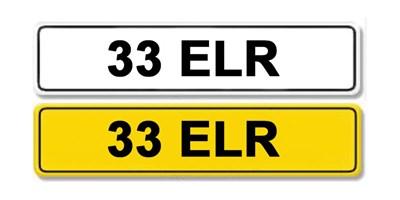 Lot 52 - Registration Number 33 ELR
