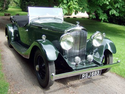 Lot 28 - 1939 Bentley 4.25 Litre Tourer