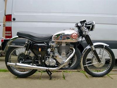 Lot 50 - 1961 BSA DBD34 Gold Star