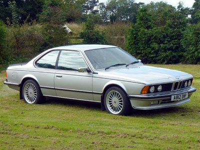 Lot 51 - 1984 BMW 635 CSi