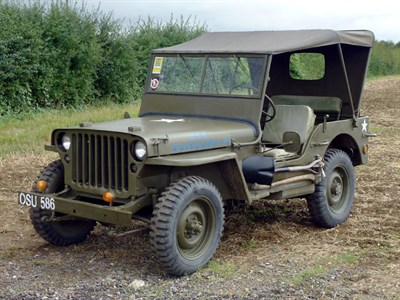 Lot 8 - 1942 Ford GPW Jeep