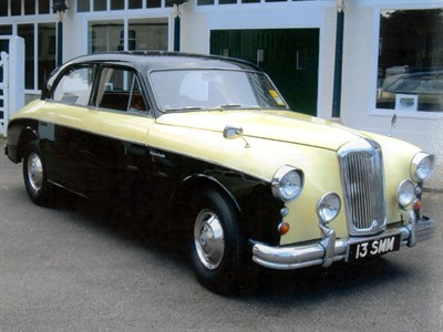 Lot 3 - 1958 Riley 2.6 Saloon
