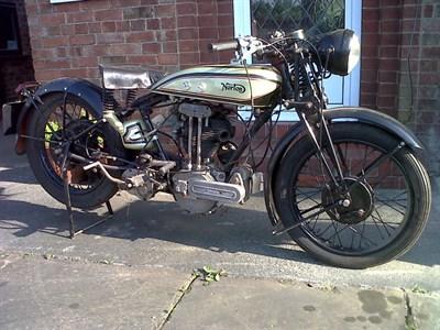 Lot 38 - 1930 Norton Model 20