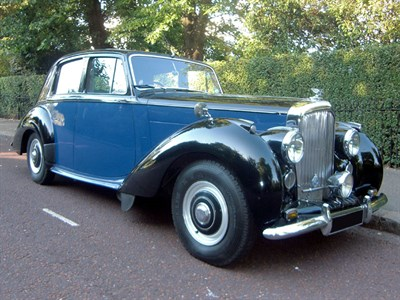 Lot 43 - 1954 Bentley R-Type Saloon