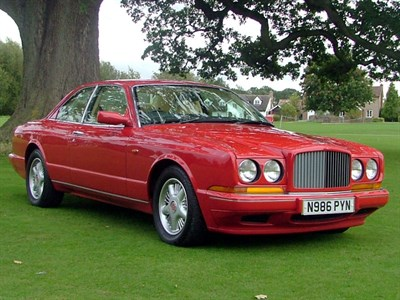 Lot 62 - 1995 Bentley Continental R