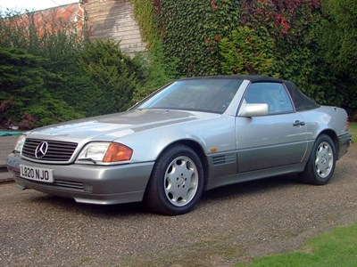 Lot 60 - 1995 Mercedes-Benz SL 500