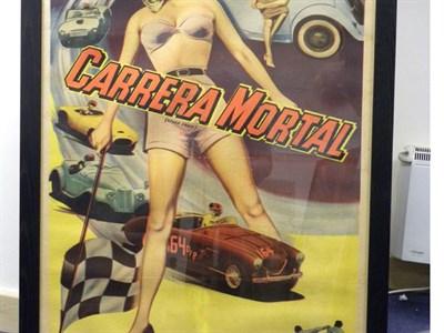 Lot 45-Carrera Mortal Original Film Poster