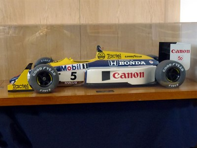Lot 44-Large Scale Promotional Williams FW-11B Model