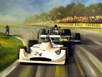 Lot 42-Dion Pears Original Artwork