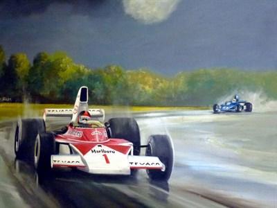 Lot 41-Dion Pears Original Artwork