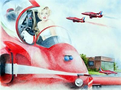 Lot 39-'Make Smoke for Marilyn' Bob Murray