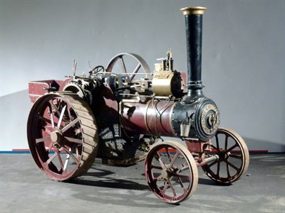 Lot 27-3'' Scale 6NHP Burrell Traction Engine
