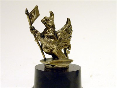 Lot 25-A Vauxhall Griffin Mascot