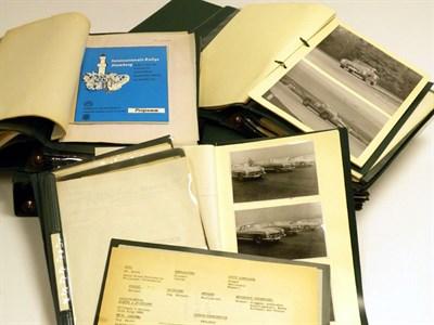Lot 8-An Archive of Motor Racing Ephemera