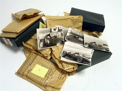 Lot 11-A Collection of Motor Racing Photographs