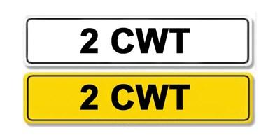 Lot 53 - Registration Number 2 CWT