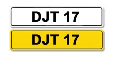 Lot 56 - Registration Number DJT 17