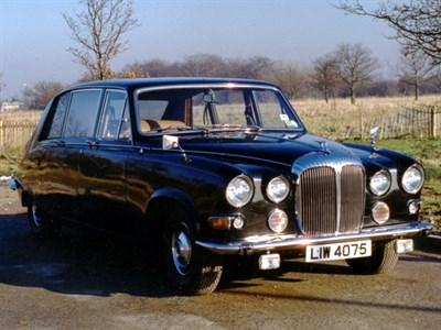 Lot 58-1977 Daimler DS 420 Limousine