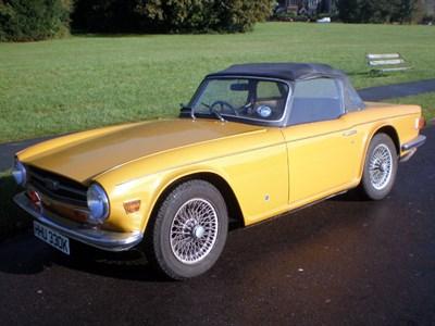 Lot 59-1972 Triumph TR6