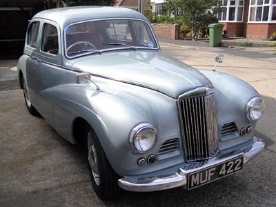 Lot 46-1953 Sunbeam-Talbot 90 Sports Saloon