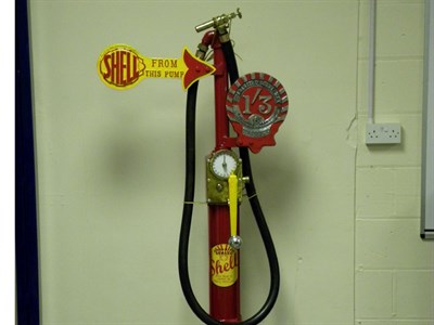 Lot 49-A Restored Petrol Pump **